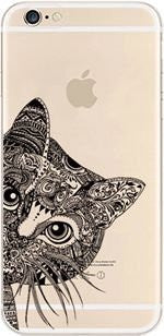 Gorgeous Painted Cat on Case Cover for iPhone
