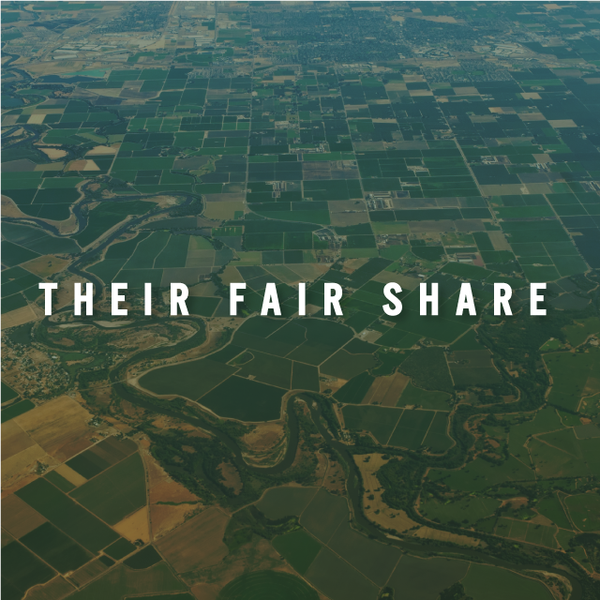 Their Fair Share: Food Production and Consumption in America
