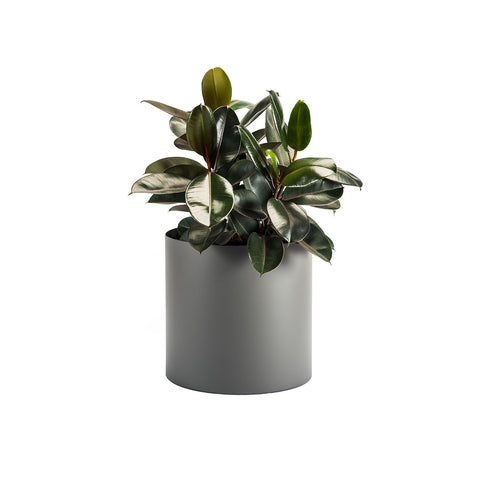 Made to Order Custom Round Metal Planters