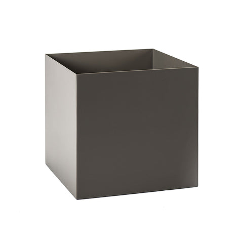Custom Powder Coated Aluminum Cube Planters