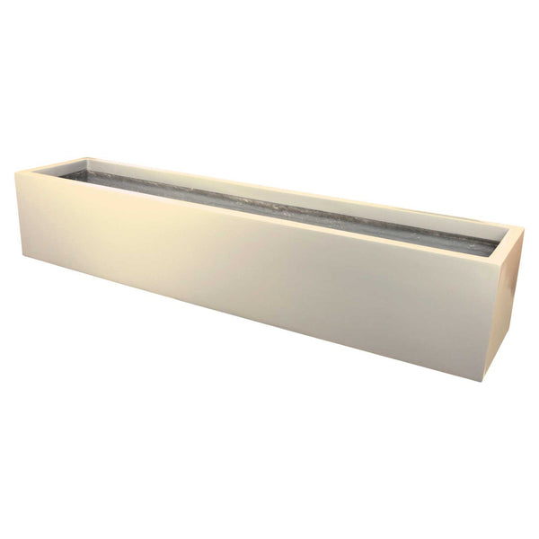 Narbonne Long Planter Box Fiberglass Planter By Jay