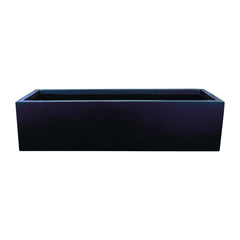 "Deck Planter Box - Fiberglass - 48""L x 18""W x 12""H - Lyon by Jay Scotts"