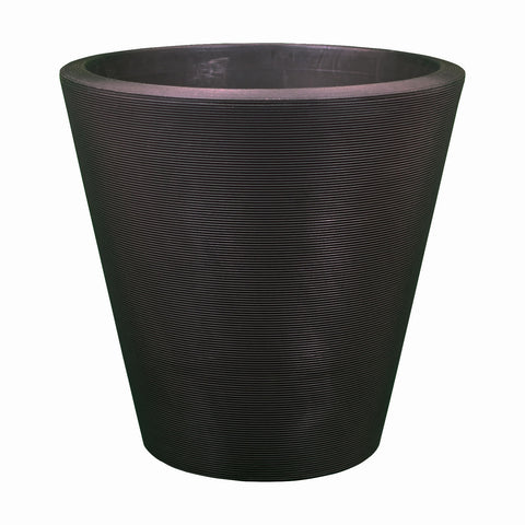 large planter pots for sale garden cheap crescent tapered round molded plastic caviar black giant plant nz