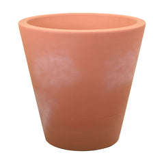 "Large Outdoor Planters - Plastic - 14""/16""/20""/26""/34"" Diameters - Madison by Crescent Garden"