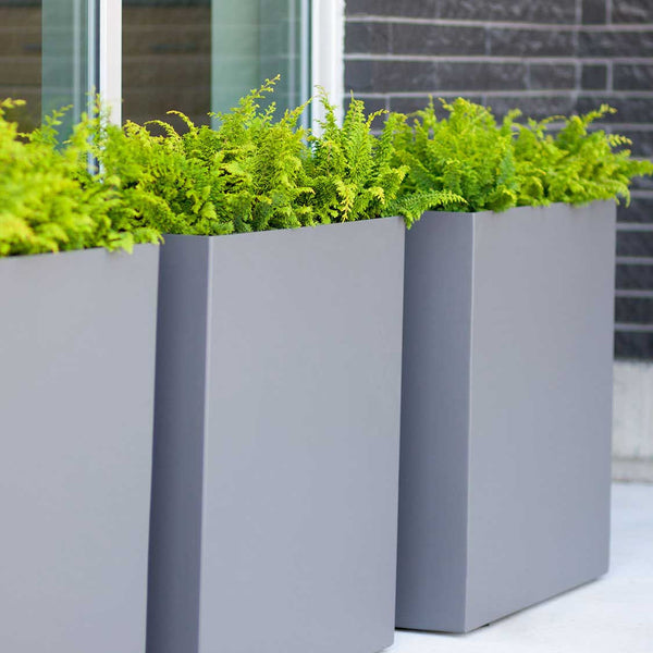"32"" Tall Modern Divider Planter Box (available In Three"