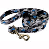"Black Camo  1"" wide Premium Pet Leash"