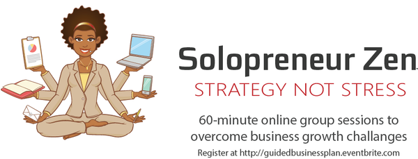 Solopreneur Zen - online group strategy sessions