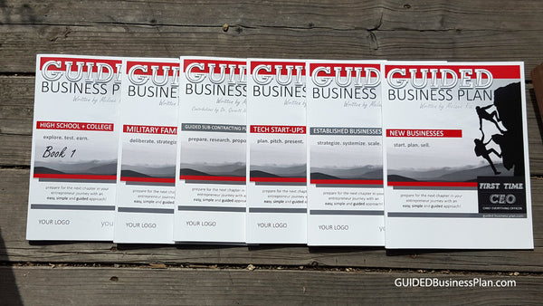 GUIDED Business Plan books simplify business planning