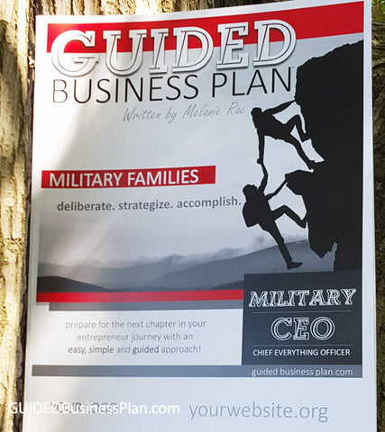 MILITARY CEO | GUIDED Business Plan™ (100 books)