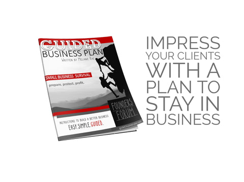 FOUNDERS FORUM | GUIDED BUSINESS PLAN™