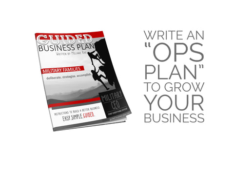 MILITARY CEO | GUIDED Business Plan™