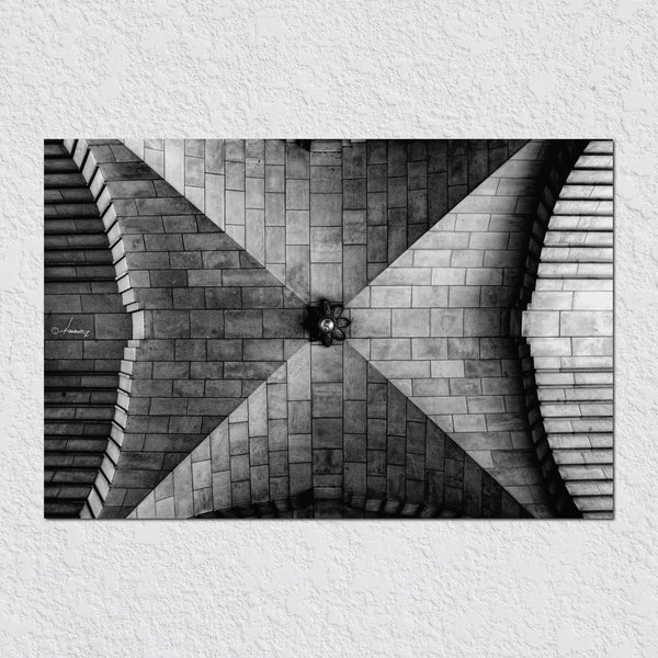 Ceiling B&W by Peter Hernandez