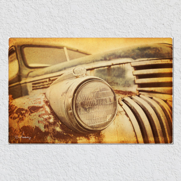Old Truck Headlight by Peter Hernandez
