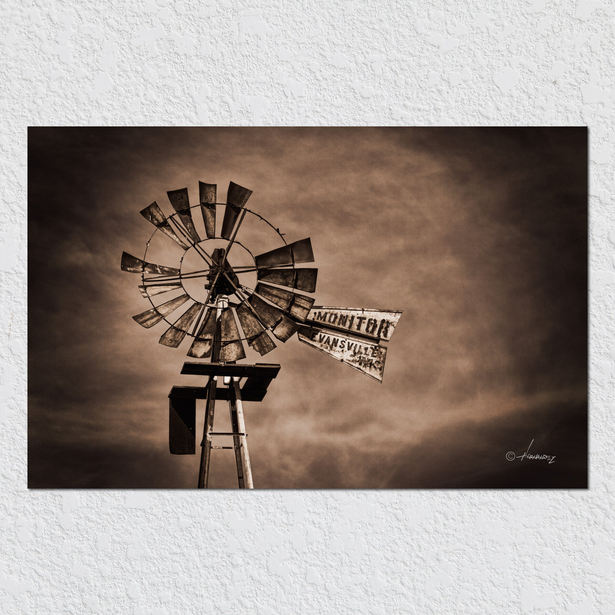 Old Windmill by Peter Hernandez