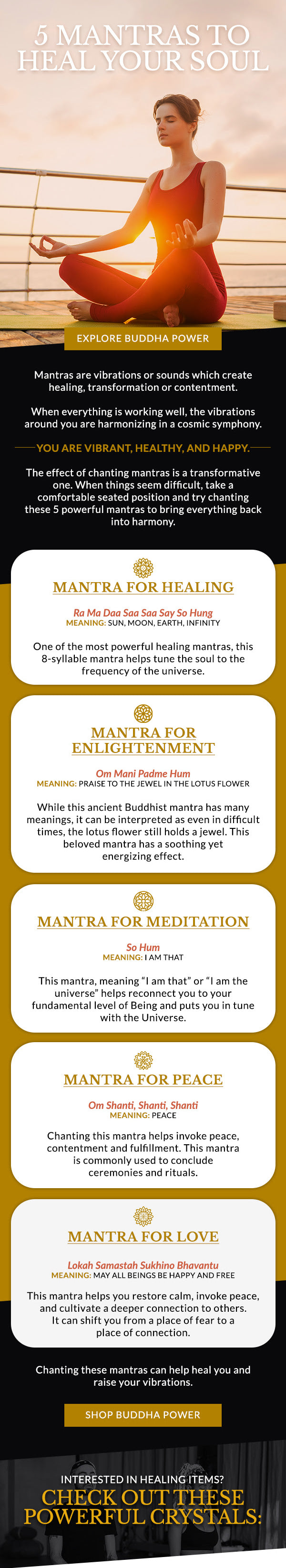 5 Mantras To Heal Your Soul
