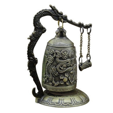 Vintage Dragon Gong for Abundance and Prosperity