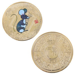 2020 Year of the Rat Feng Shui Luck Attractor Coin