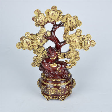 Feng Shui Coins Wealth Tree Ornament