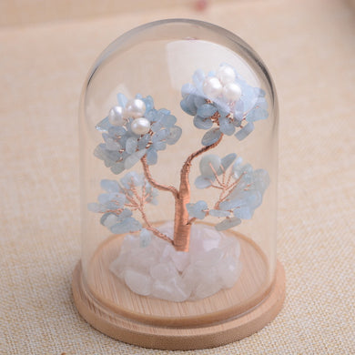 Natural Crystal Lucky Tree Ornament