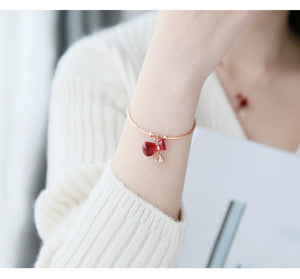 Limited Edition Lucky Red Money Bag Bangle ($50 Off)