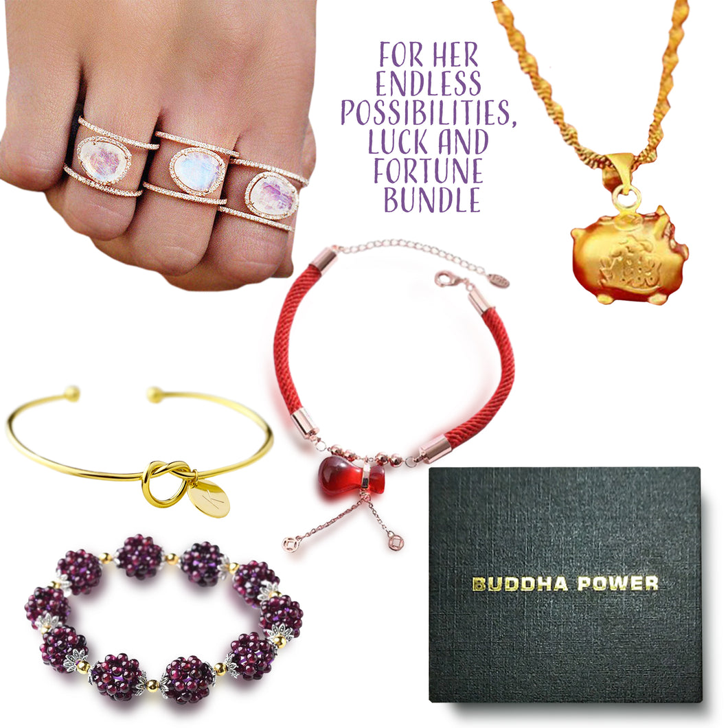 For Her Endless Possibilities, Luck And Fortune Bundle