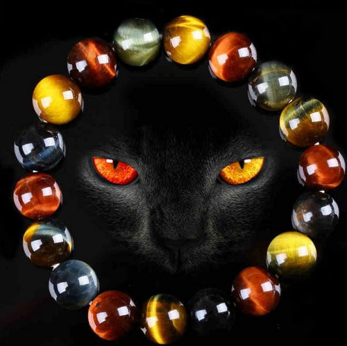 Bracelet - 2019 Tiger Eye Protection Bracelet (50% OFF)