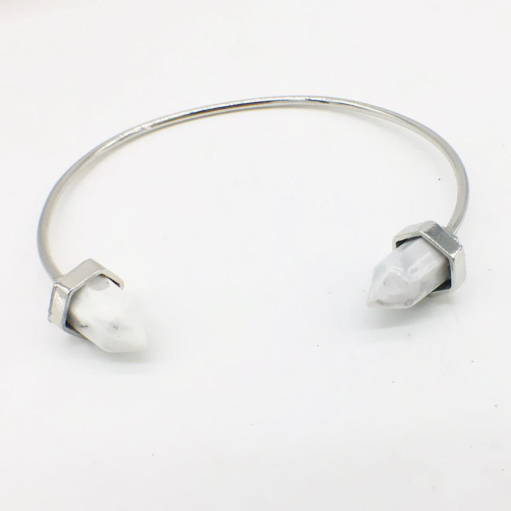 Bracelet - Crystal Bullet Healing Point Bangle