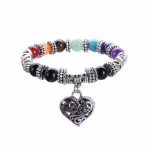 Load image into Gallery viewer, Bracelet - Healing And Love 7 Chakra Bracelet