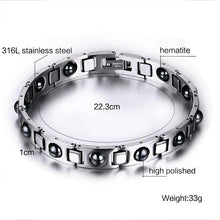 Load image into Gallery viewer, Bracelet - Healing Chain Bracelet With Hematite