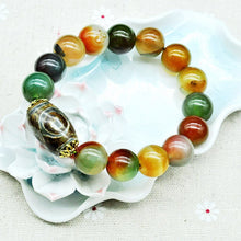Load image into Gallery viewer, Bracelet - Natural Emerald Peace & Healing Bracelet