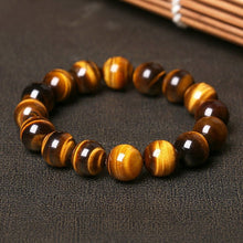 Load image into Gallery viewer, Bracelet - Natural Yellow Tiger Eye Stone Bracelet