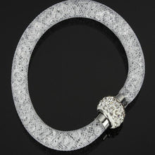 Load image into Gallery viewer, Bracelet - Stardust Crystal Mesh Bracelet