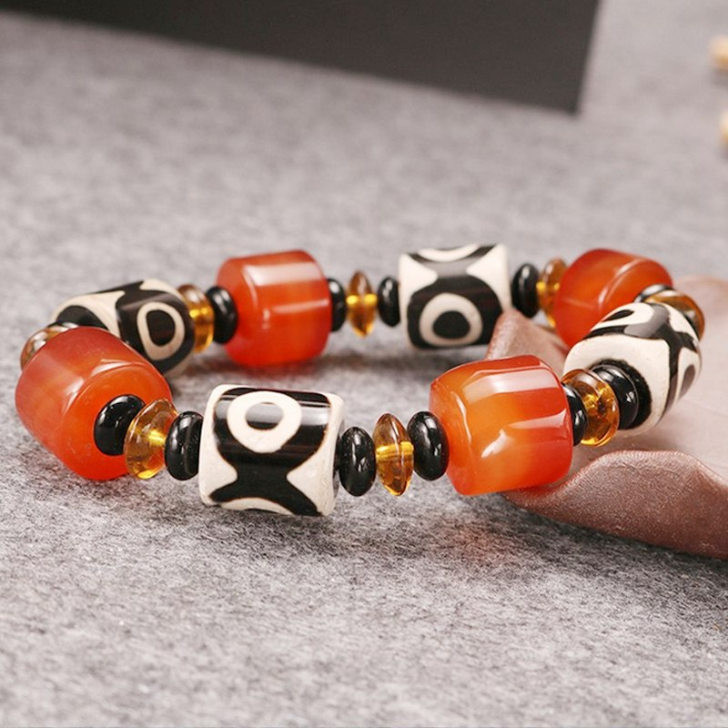 Bracelet - Symbolic Pursuit Of Wealth Natural Carnelian Bracelet