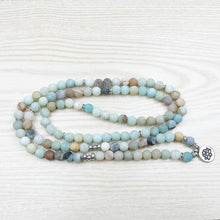 Load image into Gallery viewer, Bracelets - Amazonite Mala Beads Bracelet