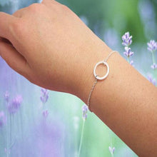 Load image into Gallery viewer, Bracelets - Dainty Karma Circle Chain Bracelet
