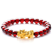 Load image into Gallery viewer, Bracelets - Garnet Money Magnet Piyao Bracelet