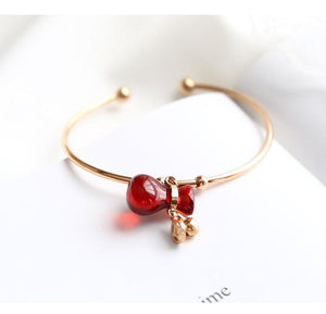 Bracelets - Limited Edition Lucky Red Money Bag Bangle ($50 Off)