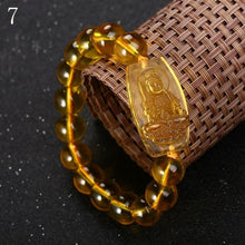 Load image into Gallery viewer, Bracelets - Natural Citrine Wealth Inviting Buddha Bracelet