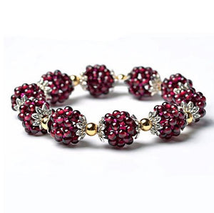Load image into Gallery viewer, Bracelets - Natural Garnet Healing Bracelet
