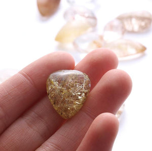 Crystal - Natural Citrine Wealth & Abundance Stone