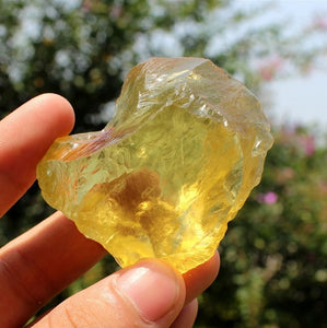 Crystal - Natural Citrine Wealth & Good Luck Crystal Stone