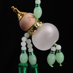 Decor - Lucky Chinese Gourd Bottle Car Ornament