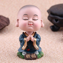 Load image into Gallery viewer, Decor - Lucky Shaking Head Small Monk Buddha Ornaments