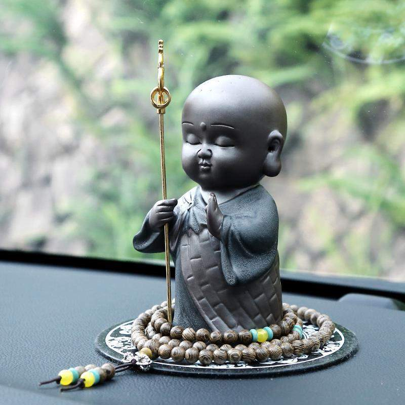 Decor - Protector Tibetan King Buddha Car Decoration
