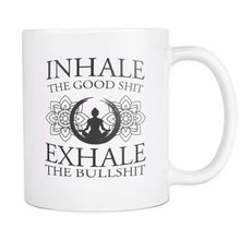 Load image into Gallery viewer, Drinkware - Inhale Exhale White Mug