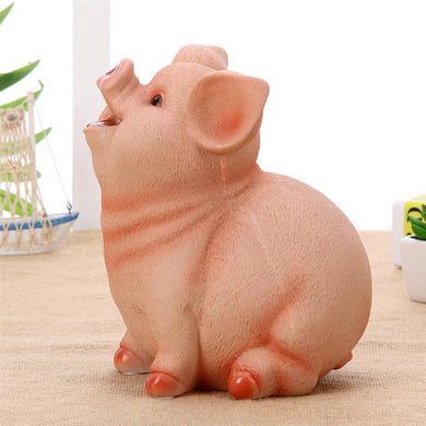 Home Decor - Auspicious Lucky Laughing Pig Piggy Bank