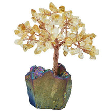 Load image into Gallery viewer, Home Decor - Lucky Crystal Money Tree Bonsai