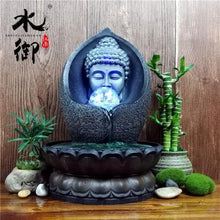 Load image into Gallery viewer, Home - Lucky Buddha Water Fountain Figurine