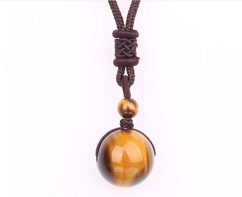 Necklace - Natural Stone Balance And Healing Necklace