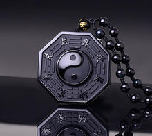 Load image into Gallery viewer, Necklace - Obsidian Yin Yang Necklace